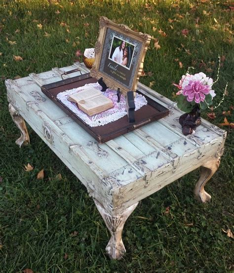 Diy Shabby Chich Coffee Stand For Sale