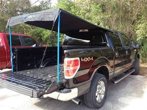 Diy Shade In A Pickup Bed