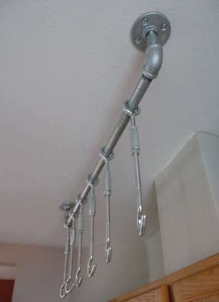 Diy Shades Rack