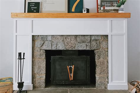 Diy Shaker Fireplace Surround