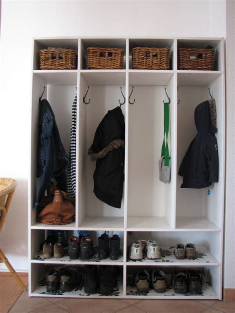Diy She Storage Coat Rack
