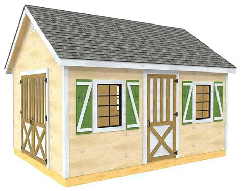 Diy Shed Plans Free With Dormer Roof