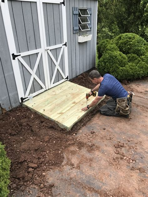 Diy Shed Ramp Video