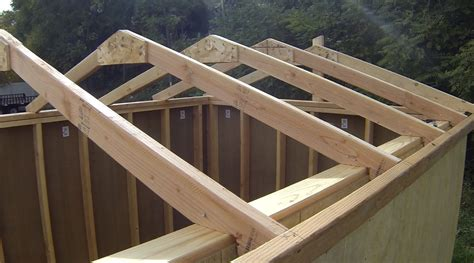Diy Shed Roof Rafters