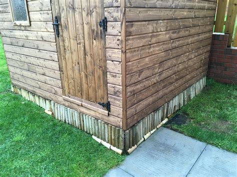 Diy Shed Skirting