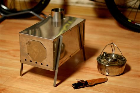 Diy Sheet Metal Wood Stove