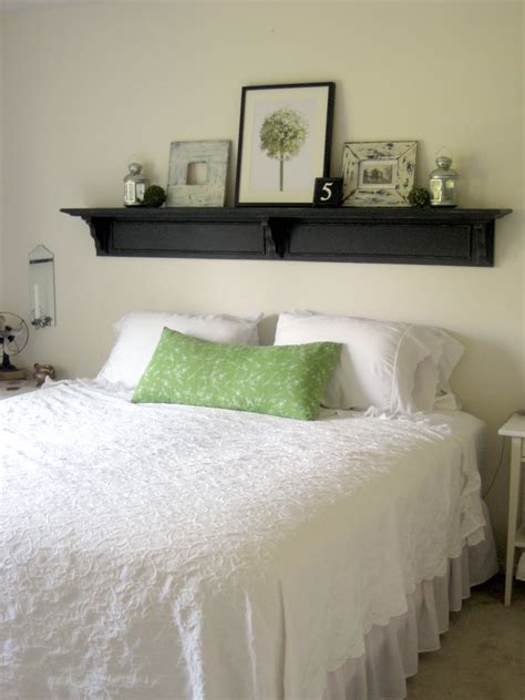 Diy Shelf Above Bed No Headboard