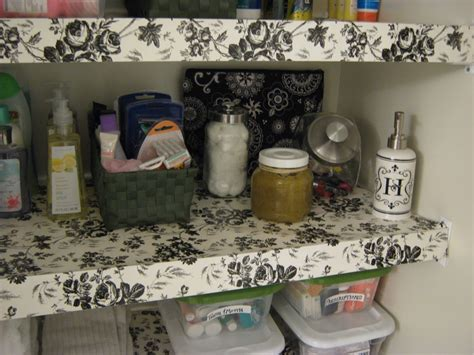 Diy Shelf Liner For Wire Shelves