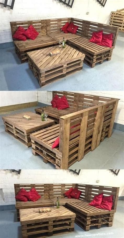 Diy Shipping Pallet Table Plans