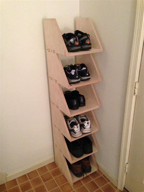 Diy Shoe Organizer Pinterest