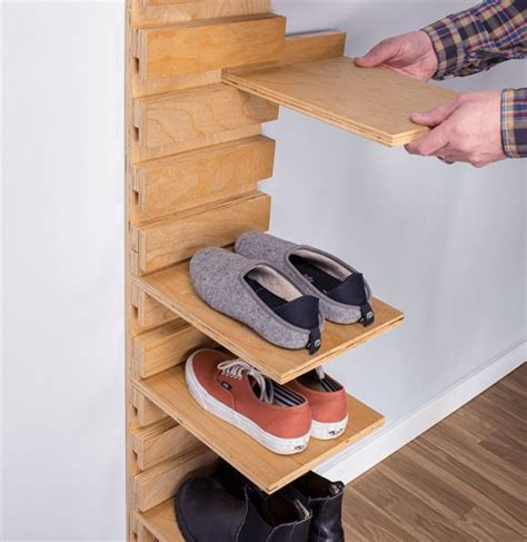 Diy Shoe Rack Small Space