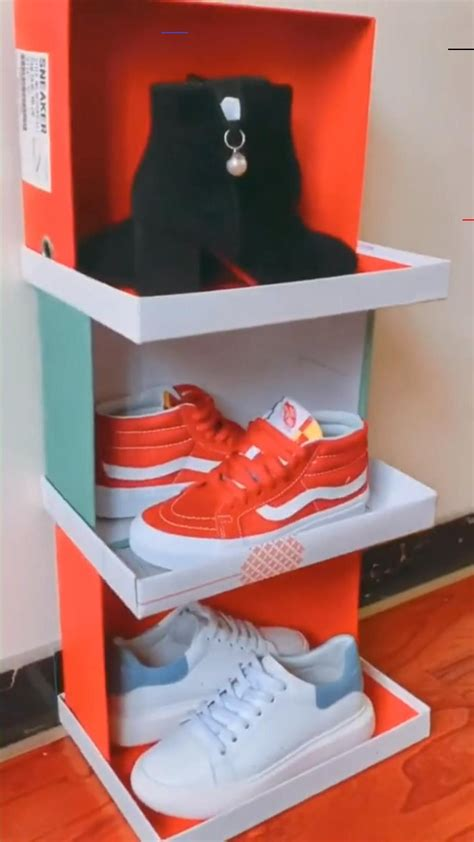 Diy Shoes Rack From Box In Outlook