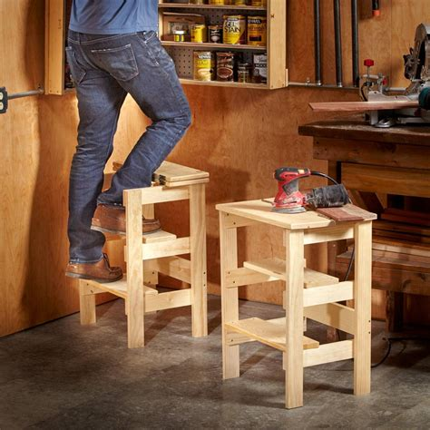 Diy Shop Step Stool