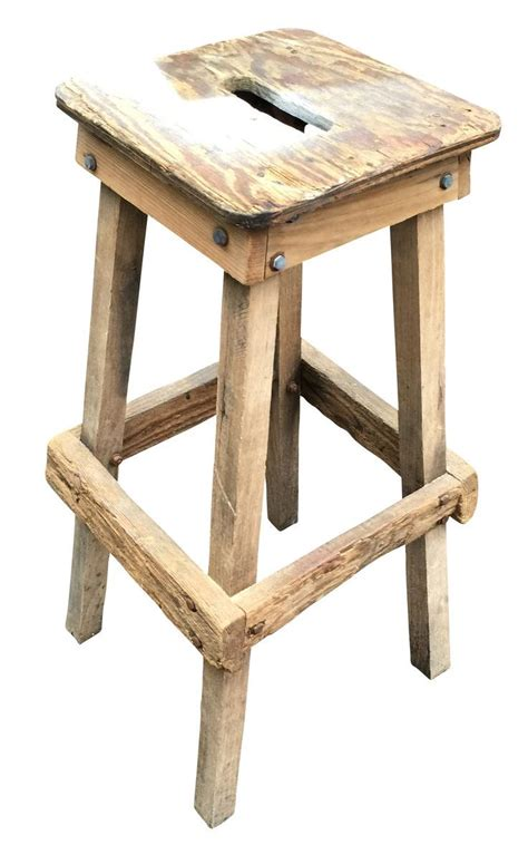 Diy Shop Stool With Back