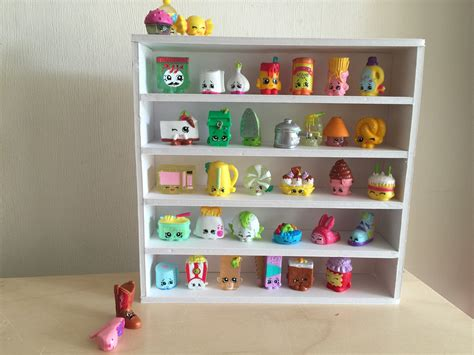 Diy Shopkins Display Stand Up Shelf