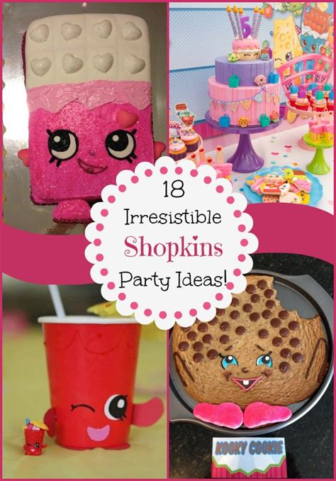 Diy Shopkins Party
