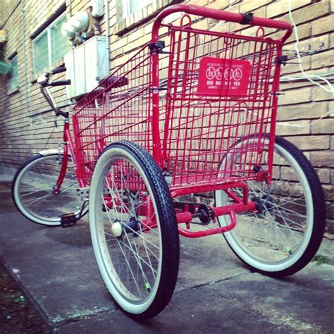 Diy Shopping Cart Bike