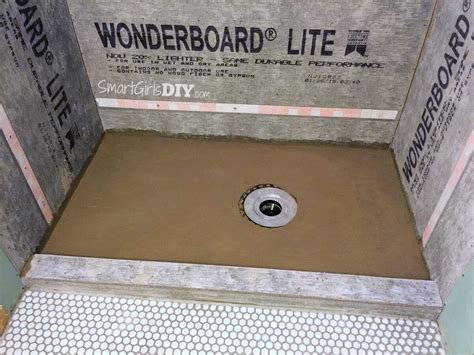 Diy Shower Mud Bed