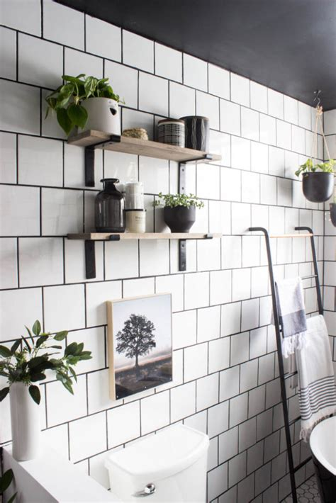 Diy Shower Shelf Tile