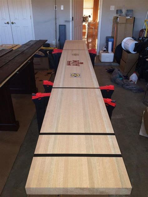 Diy Shuffleboard Table Slab