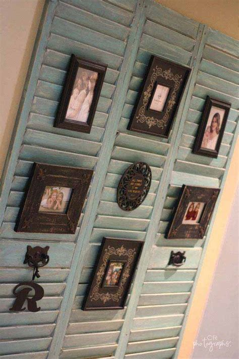 Diy Shutters Picture Frame