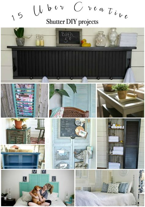 Diy Shutters Projects
