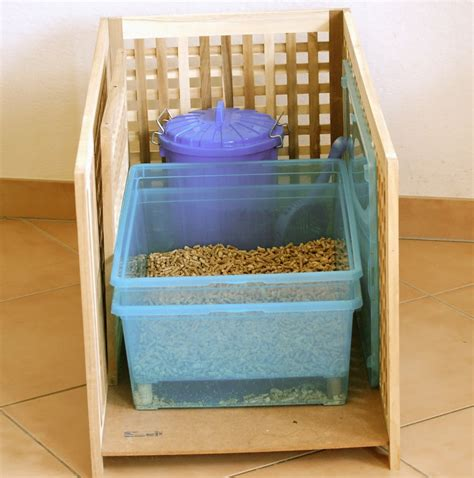 Diy Sifting Litter Box For Pellets