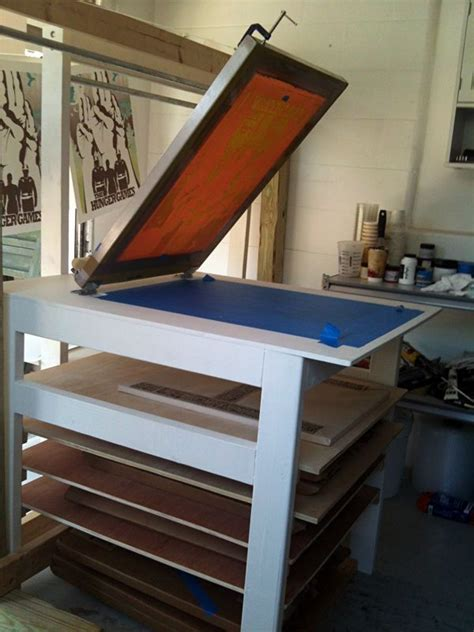 Diy Silkscreen Table
