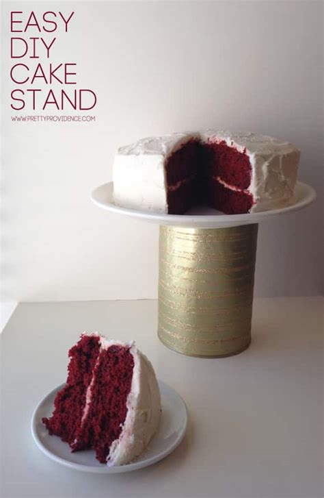 Diy Simple Cake Stand