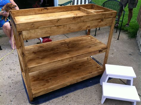 Diy Simple Changing Table