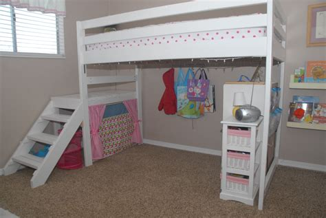 Diy Simple Double Loft Bed