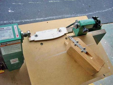 Diy Simple Wood Lathe Duplicator