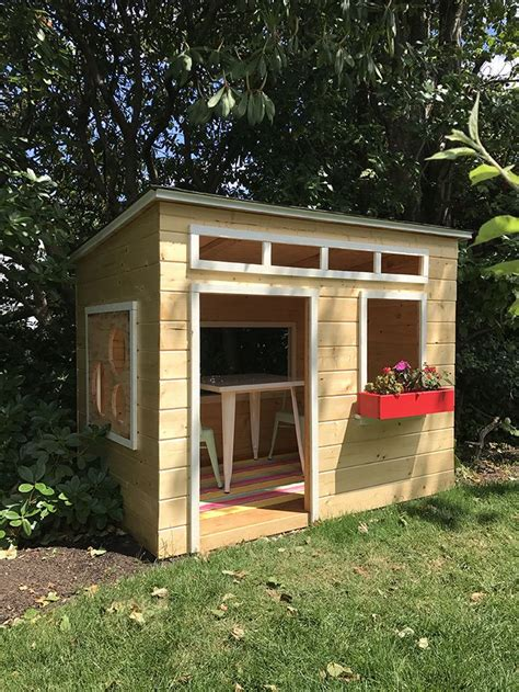 Diy Simple Wood Playhouse Outdoor