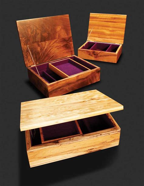 Diy Simple Wooden Jewelry Box