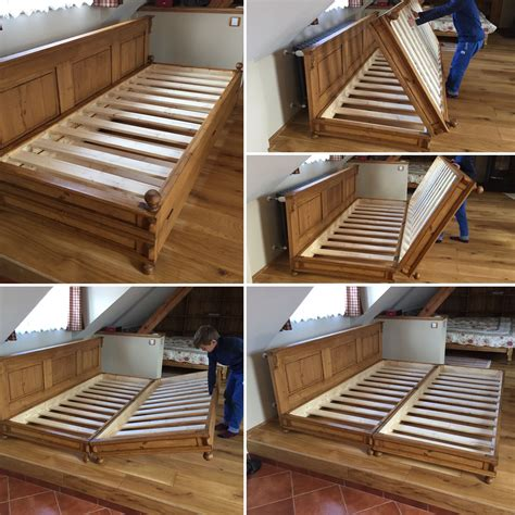 Diy Single Foldable Bed Pallet Furniture