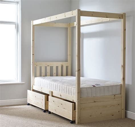 Diy Single Four Poster Bed