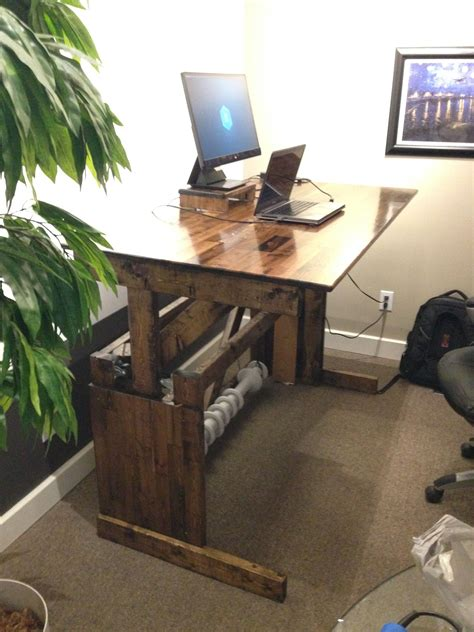 Diy Sit Stand Desk Reddit Politics