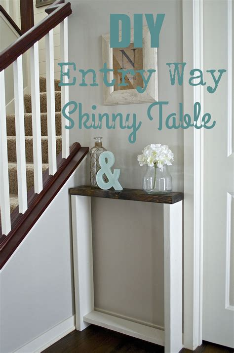 Diy Skinny Table