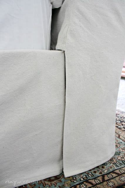 Diy Sleigh Bed Slipcovers