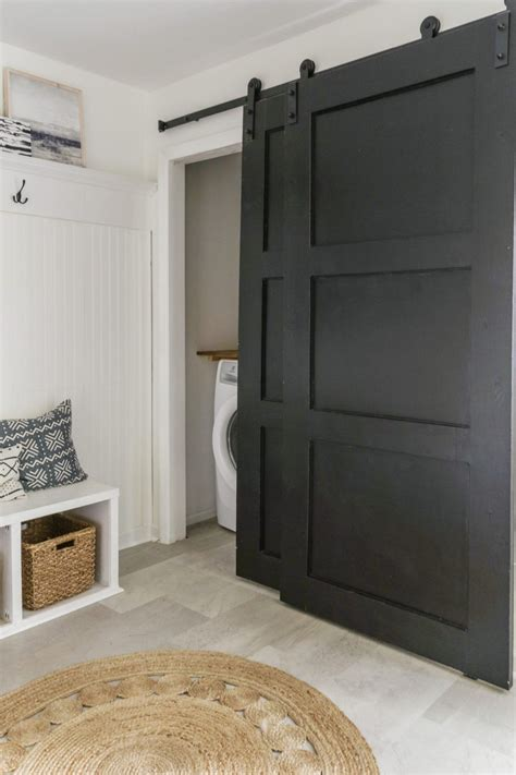 Diy Sliding Barn Door Closet