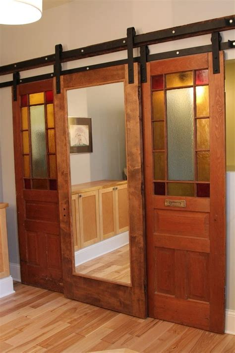 Diy Sliding Barn Door With Window