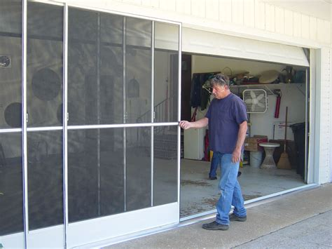 Diy Sliding Garage Door Screens