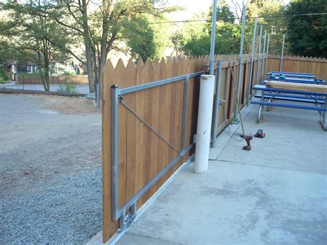 Diy Sliding Gate Frame Made Only With Wood