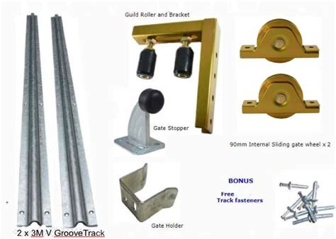 Diy Sliding Gate Parts