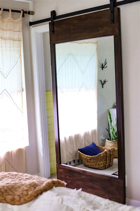Diy Sliding Mirror Door