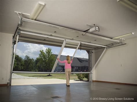 Diy Sliding Screen Garage Door