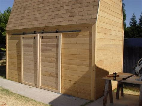 Diy Sliding Shed Door