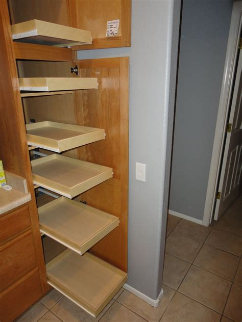 Diy Sliding Shelves For Pantry