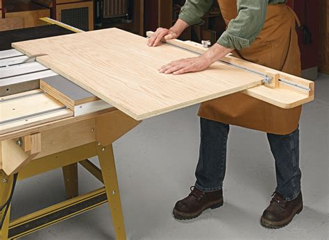 Diy Sliding Tables For Table Saws