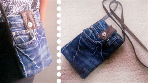 Diy Sling Bag From Old Jeans